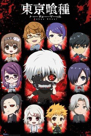 GB eye, Tokyo Ghoul, Chibi Characters, Maxi Poster, 61x91.5cm