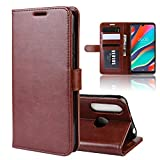 XunEda Case for Wiko View 3 Pro, PU Leather Book Flip