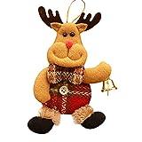 Italily Natale Ornamenti Regalo Babbo Claus Pupazzo Di Neve Renna Giocattolo Bambola Hang Decorations 3d Tessuto Non Tessuto Orso Per Addobbi E Decorazioni Ciondoli