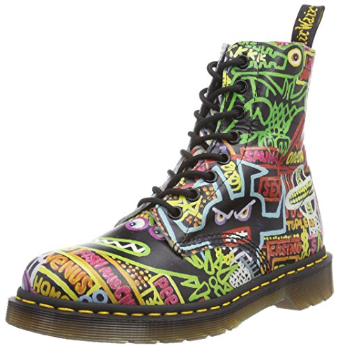 Dr. Martens Pascal Softy T Multi Kaboom, chaussures bateau femme Multicolore (multi Kaboom)