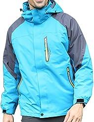 LaoZan Chaqueta de Invierno Chaqueta de Esquí Chaqueta Deportiva - Impermeable y Cortaviento - Hombre - Color 3