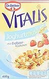 Dr. Oetker Vitalis Früchtemüsli: Müsli für Frühstück & Zwischendurch, hervorragend mit Milch, Joghurt oder Obst, 4er Packung (4 x 500g)