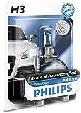 Philips WhiteVision Xenon-Effekt H3 Scheinwerferlampe 12336WHVB1, Einzelblister