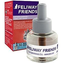 Ceva Feliway Friends - Recambio, kit de iniciación para gatos, 48 ml