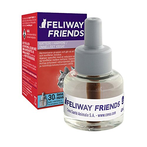 Ceva Feliway Friends - Recambio, kit de iniciación para gatos, 48 ml