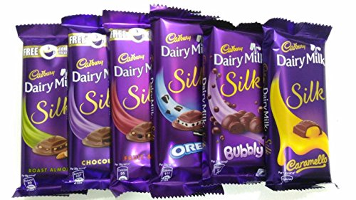 13 Off On Throni Cadbury Dairy Milk Silk Pack Of 6 Combo 335gms On