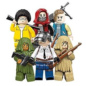 YVSoo Figuras de Juguete Playsets Personas Figuras de Acción Juegos de Construcción Muñecos Juguete para Niños Bebé 9