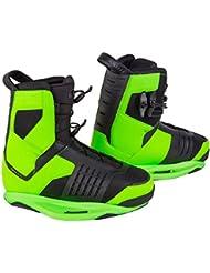 Preston Ronix cerca de los dedos del pie de wakeboard binding - Psycho - Green, color Verde - verde, tamaño 6-7 (38-39)