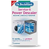 Appliances Dishwashers Best Deals - Dr.Beckmann Service-It Power Descaler 2 Treatments - for use on washing machines & dishwashers Working to protect against appliance breakdowns Powerful limescale remover Intensive descaler 2 x As strong as other descalers -