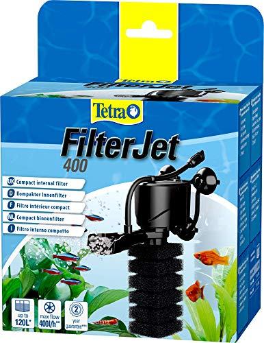 Tetra FilterJet 400, leistungsstarker Aquarium Innenfilter mit Sauerstoffanreicherung, Aquarium Filter für Aquarien bis 120L