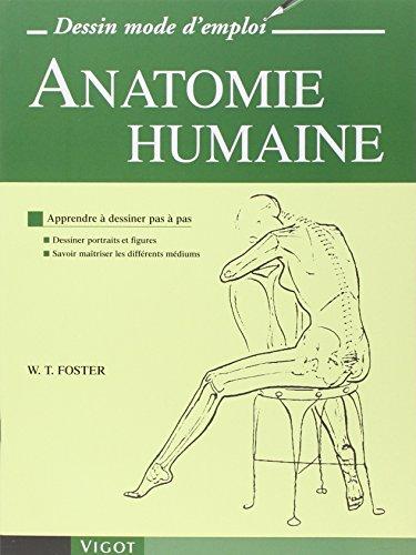 Anatomie humaine : Apprendre à dessiner pas à pas