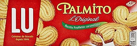 LU Palmito l'Original Biscuits, Paquet 100 g, Recette Feuilletée Caramélisée