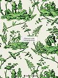 Gefährlich schön Geschenkpapier-Heft - Motiv Landszenen: 2 x 5 Bögen