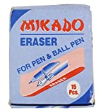 #8: MIKADO Cube Eraser for Pen and Ball Pen (Pack of 15)