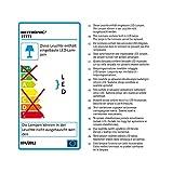 Heitronic LED Deckenleuchte LED DECKENLEUCHTE EASY 22W WARMWEISS Weiss IP20 | LEDs fest verbaut 22W warmweiß | 27773