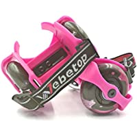 Flash Heelys Roller Skates/ Ruote da scarpe regolabile Hot Wheels Skating Scarpe,16.5 x 9 x8 cm, Rosa - Cuscinetto Ruota Corsa