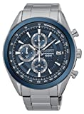 Seiko Men's Quartz Watch with Chronograph Quartz Stainless Steel SSB177P1