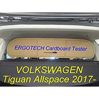 Dog Guard, Pet Barrier Net and Screen Ergotech VOLKSWAGEN Tiguan Allspace RDA65-S8 kvw030uk, for luggage and pets. Safe, comfortable for your dog, guaranteed!