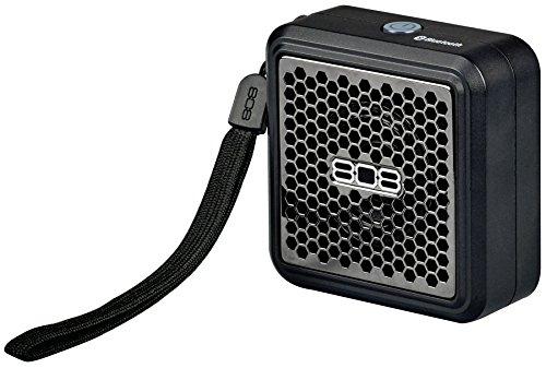 808audio XS Mini | Mobiler Wireless Bluetooth-Lautsprecher mit bis zu 6 Stunden Akku-Laufzeit | Handlich, kompakt und klangstark - schwarz