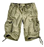 Alpha Industries Terminal Shorts, Größe:32;Farbe:olive