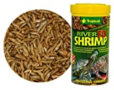 River Shrimp - Dried food for Aquatic Turtles Terrapins, Reptiles and Amphibians - 250ml