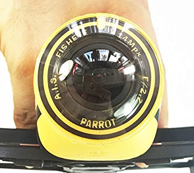 Anbee Protective UV Resin Camera Lens Cover Guard for Parrot Bebop Drone Fisheye