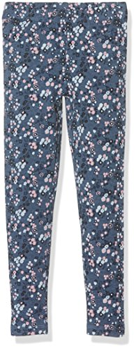 s.Oliver Mit Alloverprint, Leggings Bambina, Mehrfarbig (Blue Aop 57A0), 7 anni