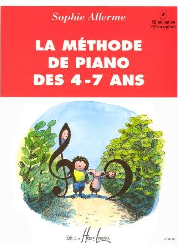 Méthode de piano des 4-7 ans par Sophie Allerme