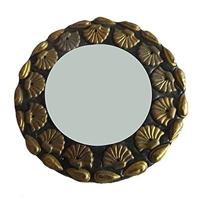 indian Geschenk antiken Spiegel Hauptdekor Tischplatte decoratiove Spiegel Frauen kosmetische Beutel handgemachte Designer Spiegel Weihnachtsgeschenk 1 PC