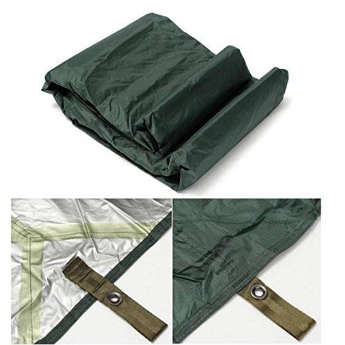 3X3.2m Army Military Auto Cover Camping Waterproof Tarp Awning Tent Fishing Shelter Outdoor Beach