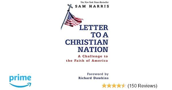 Letter To A Christian Nation Amazon Co Uk Sam Harris