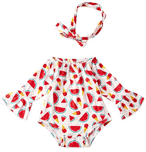 Chicolife Pfirsich Romper westlichen Baby Mädchen Bodysuit Zoo Onesies ersten Geburtstag Bommel Overalls große drucken