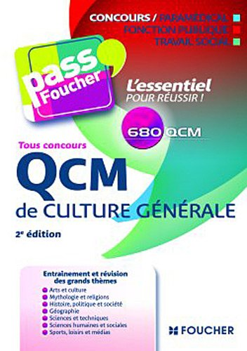 QCM de culture générale Tous concours 2e édition
