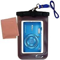 La pochette étanche Clean and Dry conçue pour l'appareil photo Nikon Coolpix S2800