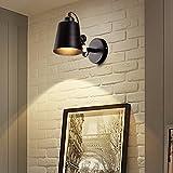 BOOTU LED Wandleuchte nach oben und unten Wandleuchten Wohnzimmer Wand leichte industrielle Treppe passage Flur licht Massivholz Himmelbett Schlafzimmer lampe Nachttischlampe