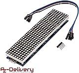 AZDelivery MAX7219 8x32 4 in 1 Dot Matrix LED Anzeigemodul für Arduino mit gratis eBook!