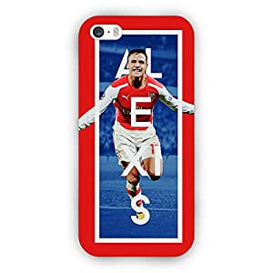 EYP Arsenal Alexis Sanchez Back Cover Case for Apple iPhone 5S