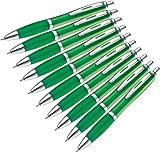p&m 10 Stck Kugelschreiber in trendigen Farben (grün)