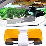 ACZZ Visiera parabrezza per auto antiriflesso - Visiera parasole e visore notturno Tacvisor universale di alta qualità Visiera anti-abbagliamento per visiera notturna e diurna