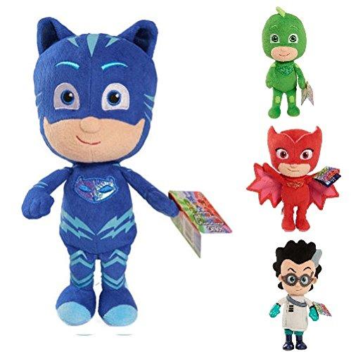 PJ Masks Mask Soft Plush Toy Gekko Owlette Catboy Romeo (Catboy)