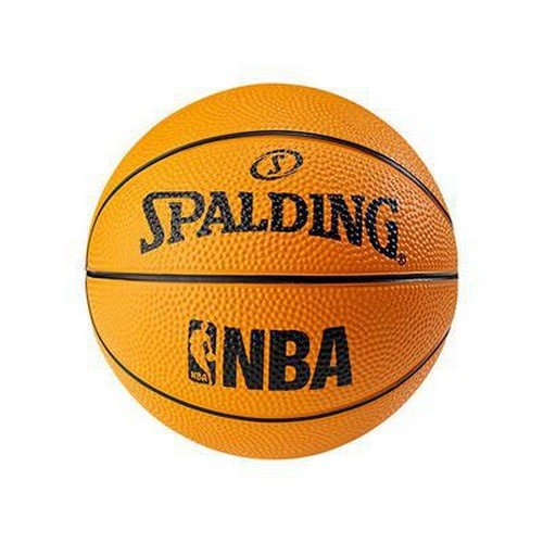 Spalding NBA Miniball Basketball Ball, orange, 1