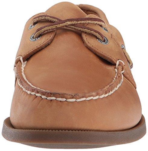 Sperry Top-Sider Men's A/O 2 Eye Boat Shoe,Sahara,8 W US Sahara