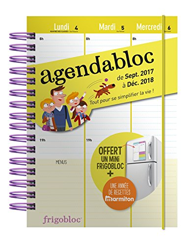 Agenda familial 2018 - S'organiser n'a jamais été aussi simple ! Agendabloc