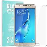 Samsung Galaxy J5 (2016) Verre Trempé SAVFY Protecteur d'écran Protection Résistant aux éraflures Glass Screen Protector Vitre Tempered - Dureté 9H, 2.5D Bords Arrondis- Anti-rayure, Anti-traces de doigts,Haute-réponse, Haute transparence