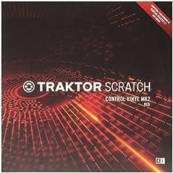 Native instruments Traktor Scratch Vinilo Rojo V2