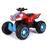 kid go Quad Elettrico per Bambini 12V ATV 4x4 Rosso