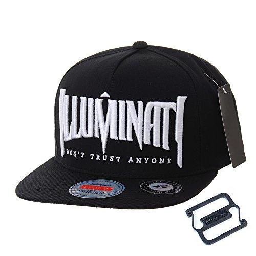 Imagen de withmoons  de béisbol  de trucker sombrero de snapback hat illuminati embroidery hip hop baseball cap al2389 black