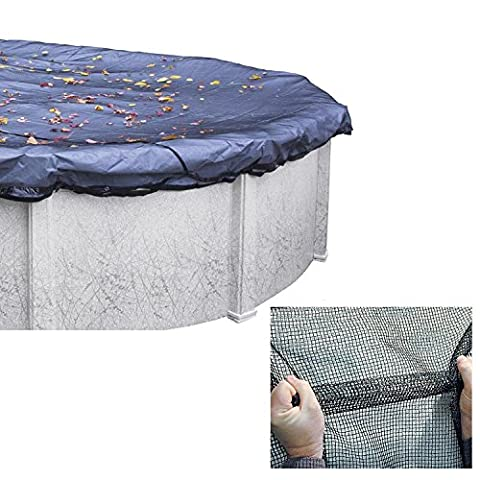 Round Leaf Net Pool Cover 21' ft
