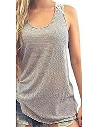 Ropa Y Blusas 32 Amazon Camisetas es Sin Camisetas Mangas Tops Aqwzq0