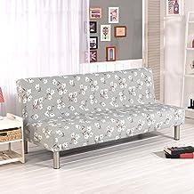Fastar funda de clic-clac elástica, funda cubre protector sofá de 3 plazas,Impresión floral (G)